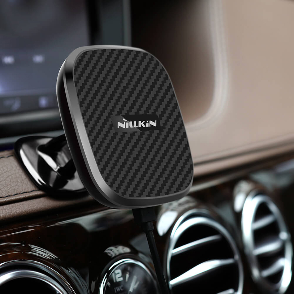 Nillkin (10W) Magnetic Car Dashboard Mount Fast Wireless Charger II for Phone
